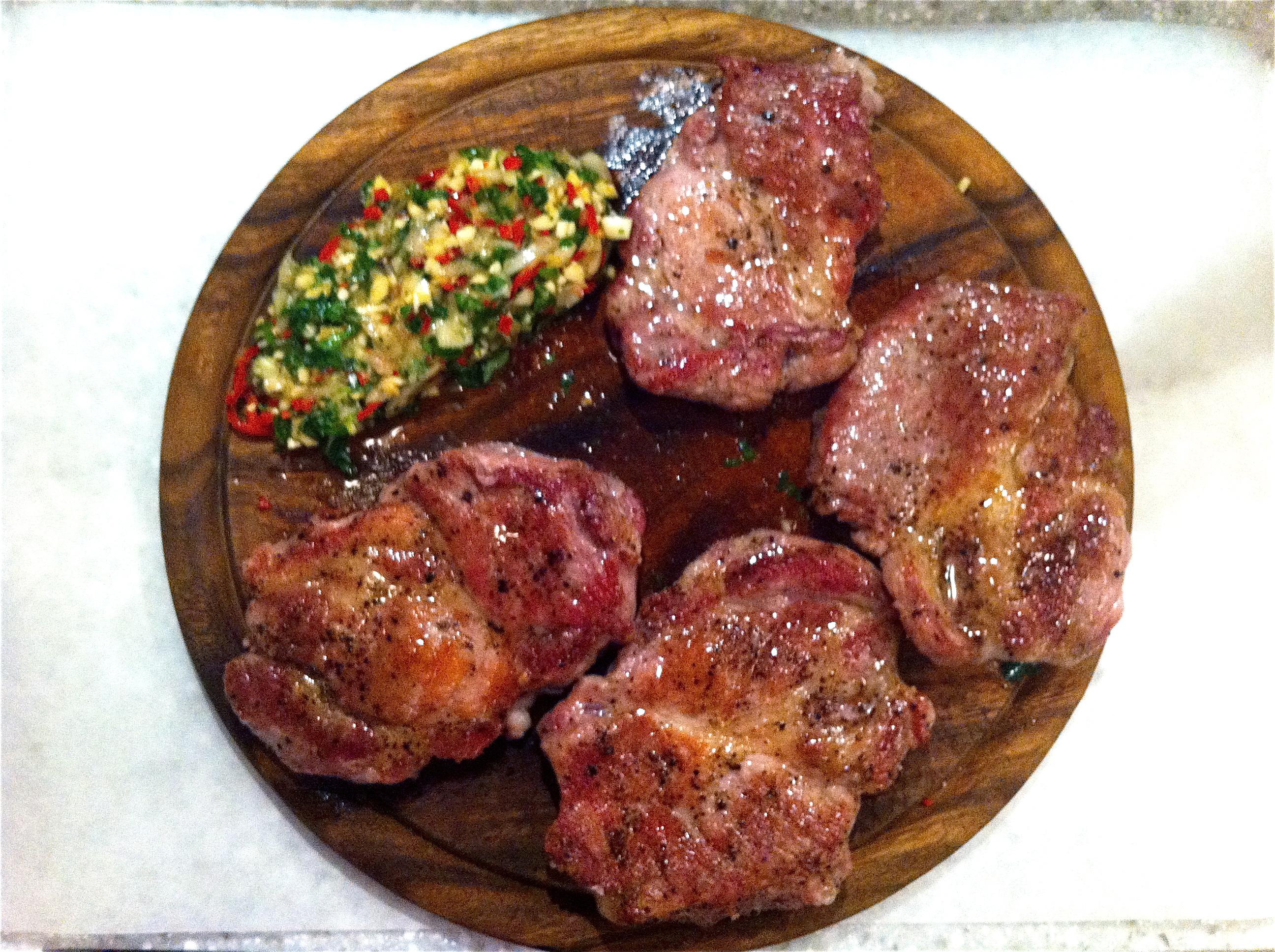 Свинина обжаренная на сковороде в соусе